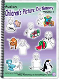 Auslan Children's Picture Dictionary - Volume 1 - Cover