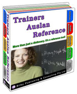 Trainers Auslan Reference - 2010