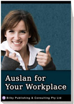 Auslan for Your Workplace - Cover